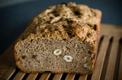 Homemade loaf of bread Stock Photo