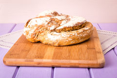 Homemade loaf of bread Royalty Free Stock Images