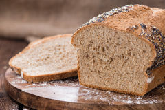 Homemade loaf of bread Royalty Free Stock Photos