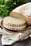 Homemade loaf of rye bread Royalty Free Stock Image