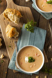 Homemade Lobster Bisque Soup Stock Images