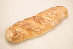 Homemade long loaf Royalty Free Stock Image