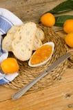 Homemade loquat marmalade Stock Photography