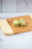 Homemade macarons Royalty Free Stock Photos