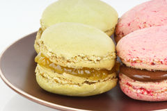 Homemade macaroons Royalty Free Stock Photography