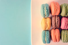 Homemade macroons Royalty Free Stock Photography