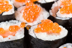 Homemade Maki Sushi Royalty Free Stock Photo