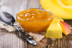 Homemade Mango Jam Stock Image