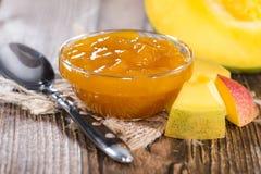 Homemade Mango Jam Stock Image