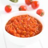 Homemade Marinara or Pomodoro Tomato Sauce Stock Photos