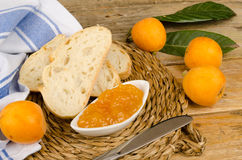 Homemade marmalade royalty free stock photo