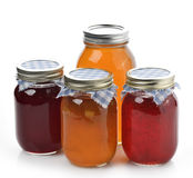 Homemade Marmalade,Jam And Honey Stock Photos