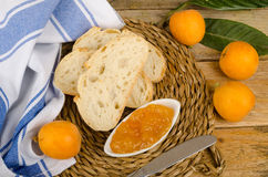 Homemade marmalade still life stock photography