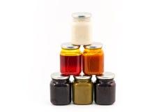 Homemade marmelade pile Stock Photo