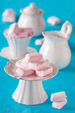 Homemade marshmallow Stock Image