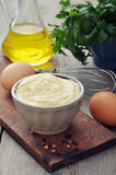 Homemade mayonnaise Royalty Free Stock Images