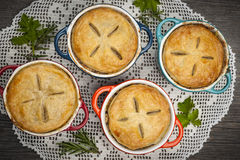 Homemade meat pies Royalty Free Stock Photo