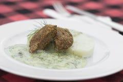 Homemade meatballs Stock Image