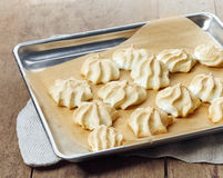 Homemade meringue cookies Royalty Free Stock Photo