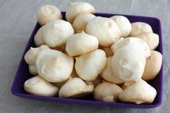 Homemade meringue cookies Stock Image