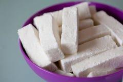Homemade Meringue Marshmallow Royalty Free Stock Image