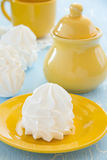 Homemade meringue. Stock Image