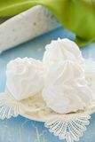 Homemade meringue. Royalty Free Stock Photo