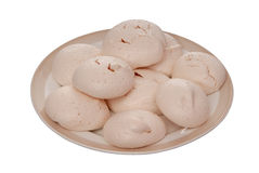 Homemade  meringue Stock Photography