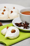 Homemade meringues Royalty Free Stock Images
