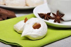Homemade meringues Stock Photo