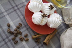 Homemade meringues Royalty Free Stock Photography