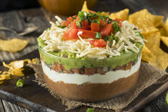 Free Homemade Mexican 7 Layer Dip Stock Photo - 84931470