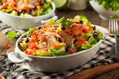 Homemade Mexican Chicken Burrito Bowl Royalty Free Stock Image