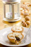 Homemade mince pies Stock Images