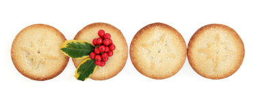 Homemade Mince Pies Stock Photography