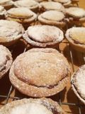Homemade mince pies Royalty Free Stock Photos