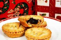 Homemade mince pies. Royalty Free Stock Images