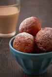Homemade mini doughnuts Stock Image