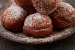 Homemade mini doughnuts Stock Photo