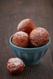 Homemade mini doughnuts Royalty Free Stock Photos