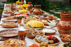 Homemade moldavian food Royalty Free Stock Image