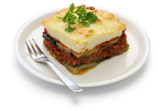 Homemade moussaka Royalty Free Stock Photos