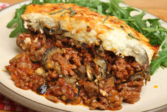 Homemade Moussaka Royalty Free Stock Images