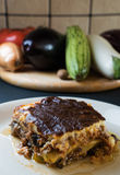 Homemade moussaka Stock Photo