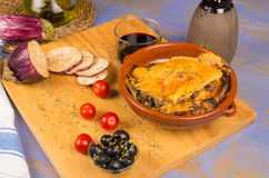 Homemade moussaka Royalty Free Stock Image