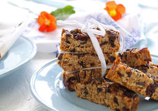 Homemade Muesli Bars Royalty Free Stock Image