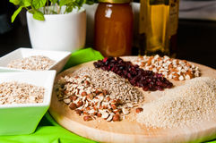 Homemade muesli Stock Photo