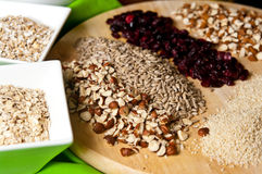 Homemade muesli Royalty Free Stock Photography
