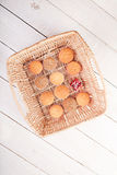 Homemade muffins Stock Photography