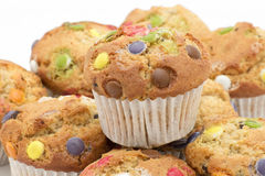 Homemade muffins or cupcakes Stock Photo